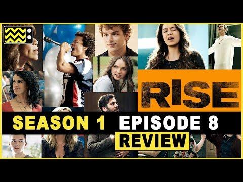 Rise Season 1 Episode 8 Review w/ Sean Grandillo   AfterBuzz TV