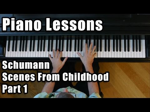 Schumann: Scenes from Childhood, part 1
