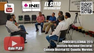 EL SITIO INFORMATIVO (19 de Diciembre del 2014) - PROCESO ELECTORAL 2015 - INE Video