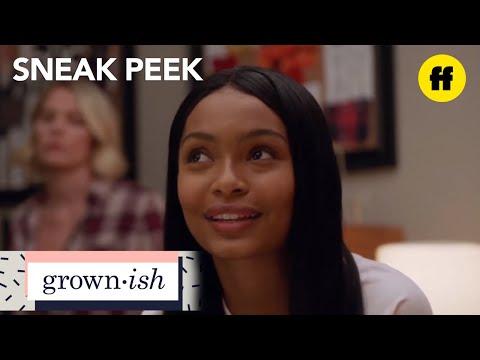 "grown-ish | season 1, episode 3 sneak peek: the ""u up"" bitch? | freeform"