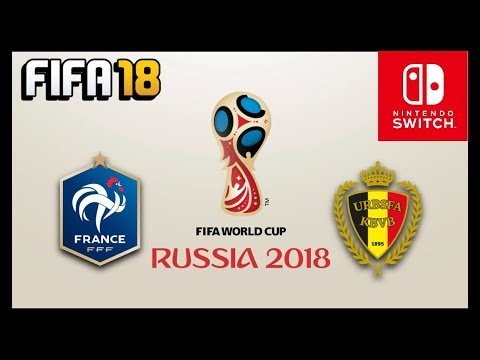 FIFA 18 - FIFA WORLD CUP RUSSIA 2018 (Nintendo Switch) - FRANCIA vs BÉLGICA/FRANCE vs BELGIUM