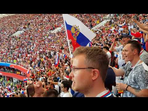 National Anthem Russia. Russia Vs Spain R16 Moscow. 1st July 2018 FIFA World Cup