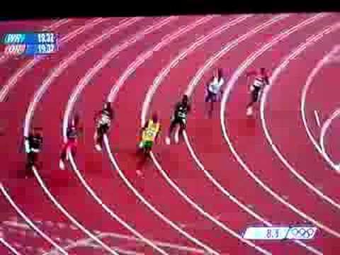 Usain Bolt 200m WR 19.30