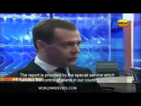 Russian Prime Minister Talks of Aliens Living Among Us!
