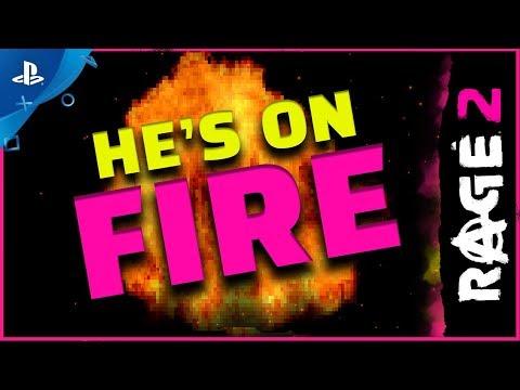 Rage 2 - He's On Fire | PS4 - Thời lượng: 69 giây.