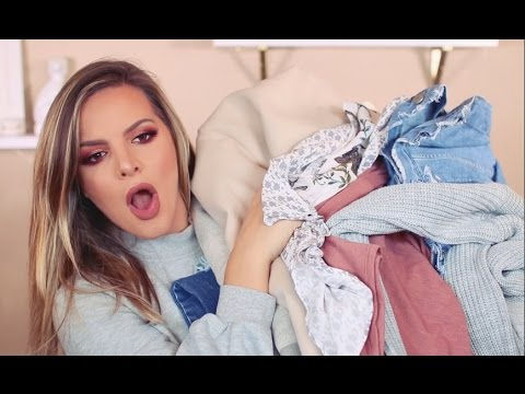 FALL CLOTHING HAUL & TRY ON! | Casey Holmes