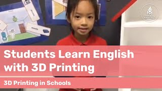 How Students at Richmond PS Learned English By Creating 3D Printed Furniture for a Doll House