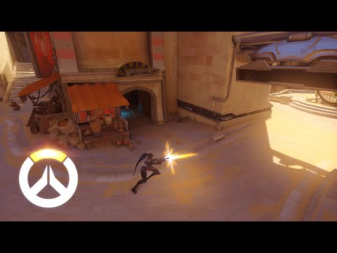 Overwatch - Widowmaker Gameplay Preview