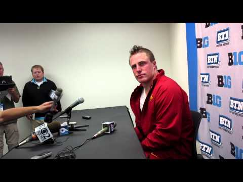 Jake Knott Post-Game Interview 9/8/2012 video.