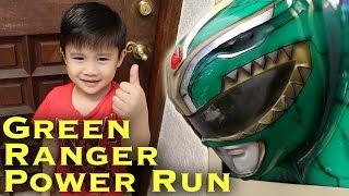 Green Ranger Power Run [Power Rangers Morph Problem]