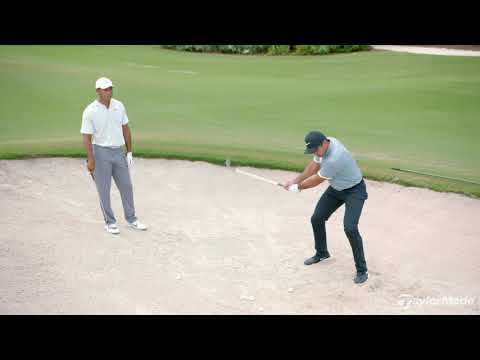 Bunker Technique with Tiger Woods & Jason Day | TaylorMade Golf