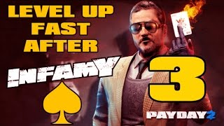 Payday 2   How To Level Up Fast After Infamy 2016  Part 3