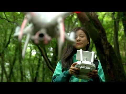 I joined promotional movie for DJI Phantom 4 Pro.