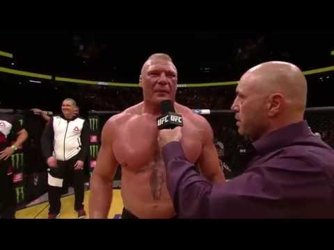 UFC 200: Brock Lesnar - Octagon Interview (видео)
