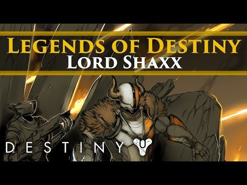 Legends Of Destiny - Lord Shaxx And The Battle Of The Twilight Gap