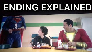 SHAZAM ENDING EXPLAINED (INSANE)