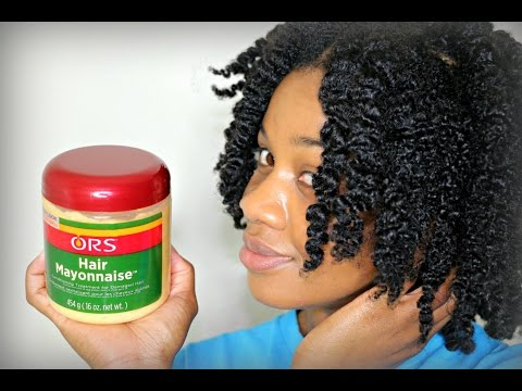 Download ORS Hair Mayonnaise On Natural Hair HD Mp4 3GP Video and MP3