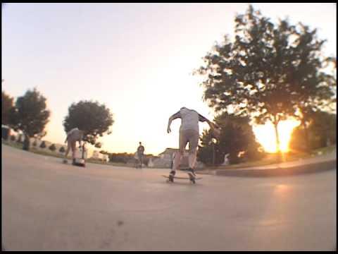 Roberts Skatepark Skateboarding Montage Omaha Nebraska