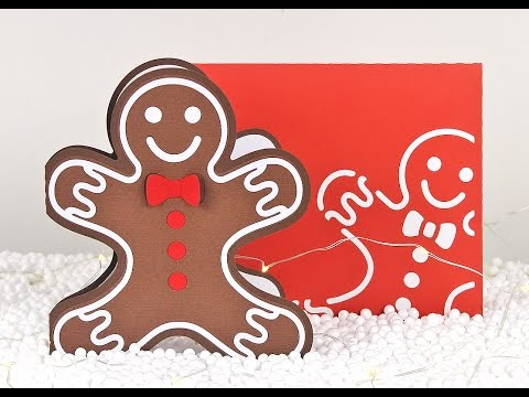 Gingerbread Man Card Assembly