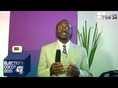 """TÉLÉ 24 LIVE: SPOT Élection Cocot 2013 – """" Voter pour Augustin Bazangeya """""""