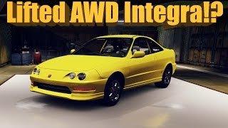 Forza Horizon 2 Will It Off-Road? Lifted AWD Swap Integra Type R