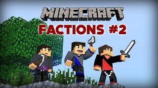 Minecraft: Factions Let's Play - Ep. 2 - DROP PARTY!!!