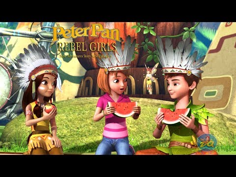Peter pan Season 2 Episode 9 Rebel Girls | Cartoon |  Video | Online
