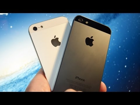 DetroitBORG - Detailed unboxing and tour of the white and black iPhone 5. Detailed Specs: http://www.apple.com/iphone/specs.html EarPods Review: http://youtu.be/pNZ4-kWBt_...