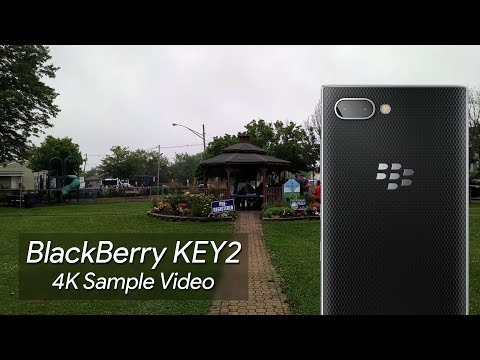 BlackBerry KEY2 4K Sample Video