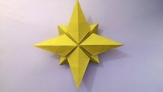 How to make: Origami Christmas Star