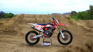 9. Motocross Action tests Ryan Dungey's Factory KTM 450 SXF FE