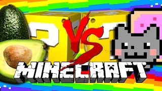Watch as SSundee and Crainer open Nyan Cat Lucky Blocks and then shoot explosive pigs at each other?! How does this even...
