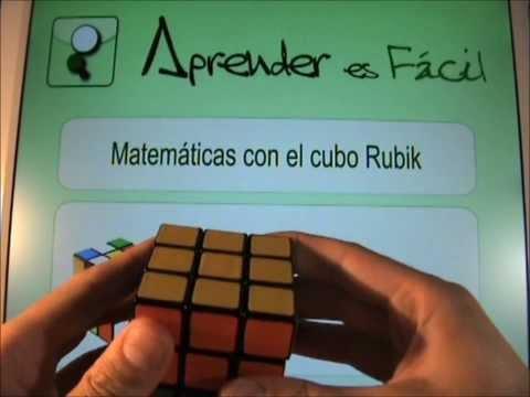 Aprender Matemáticas con el cubo Rubik – 12. Paso 5