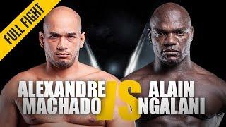 Video ONE: Full Fight | Alexandre Machado vs. Alain Ngalani | Grappling Showcase | August 2016 MP3, 3GP, MP4, WEBM, AVI, FLV Januari 2019