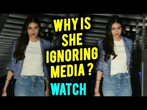 Suniel Shetty Daughter Athiya Shetty ROYAL IGNORE