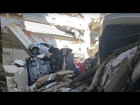 Ντάλας: Ένας νεκρός από κατάρρευση γερανού σε πολυκατοικία…