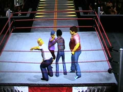 Sesame Street vs The Simpsons Royal Rumble SVR 10 (DfantasyCaws)