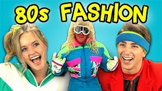TEENS REACT TO 80's FASHION