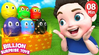 Video Nursery rhymes for babies | 3D Nursery Songs Compilation from Billion Surprise Toys MP3, 3GP, MP4, WEBM, AVI, FLV Januari 2018
