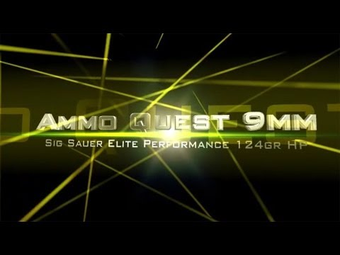 Ammo Quest 9mm: Sig Sauer Elite Performance V-Crown ammo test in ballistic gel
