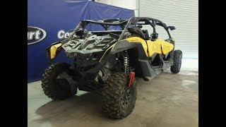 10. Copart  CAN-AM MAVERICK X3 MAX X DS TURBO R 2017