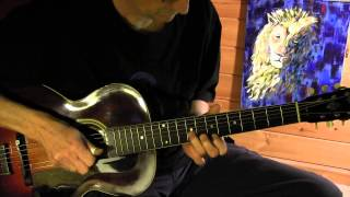 Blue Lion Blues - Acoustic Fingerpicking Blues on a 1925 Gibson L3