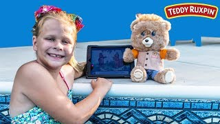 This is a paid advertisement for Teddy Ruxpin. Please Subscribe Here http://www.youtube.com/user/TheEngineeringFamily?sub_confirmation=1Check out our second channel - https://www.youtube.com/channel/UCPC55dCdzIjNJd421LbK3uwCheck out some of these other fun TheEngineeringFamily Treasure HuntsDISNEY SURPRISE TREASURE Secret Surprise Treasure with the Assistant a Disney World Video Surprise   https://youtu.be/a3c5pAJ-o-kPJ MASKS Disney Search For PJ Masks with Blaze and Paw Patrol Video  Adventure   https://youtu.be/4mV2sNE14PgAssistant Slip N Slide Bounce House Carnival Challenge Surprise Toys Video  https://youtu.be/HKE2lCvb6fMASSISTANT TREASURE HUNT Paw Patrol Look Out Hunt + toysZootopia + Lion Guard Toys Surprise Video  https://youtu.be/ECgPK35Gw3wOr these Playlists!  Funny Kids Videos     https://www.youtube.com/playlist?list=PLoLQ9unpi4OHXhaMeWT2y6P27pbuzKbckFeaturing the Assistant   https://www.youtube.com/playlist?list=PLoLQ9unpi4OGfgjxJsWnO878aLXo2TgXHAbout The Engineering FamilyWe are The Engineering Family, a family of educators working to show you how to make learning fun and engaging through toy unboxings, toy reviews, and original series designed to insight imaginative play within your family. With Mr. Engineer as an experienced engineer with a love of exploring new things, Mrs. Engineer an award winning teacher with a math and counseling focus, and their daughter The Assistant you can think of The Engineering channel as your imagination station. You can think of The Engineering Family channel as a Funbrain meets YouTube. This family is taking some of the coolest toys like Paw Patrol, Shimmer and Shine, Scooby Doo, PJ Masks, Doc Mcstuffins, and plenty of fun Real Life live action videos that help teach children valuable STEM content. As always... TheEngineeringFamily only features 100% suitable family fun entertainment.