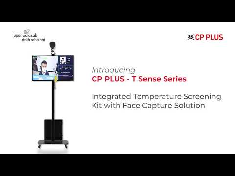 T-Sense Series : Integrated Temperature Screening Kit with Face Capture Solution