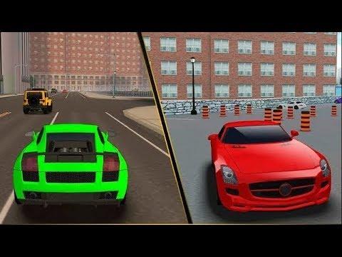 Мультики про машинки - правила дорожного движения и светофор. видео