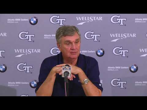 Video: Game 9: Paul Johnson Weekly Press Conference (11-7-17)