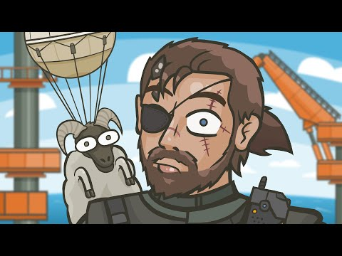 MGS V: The Fulton Pain (MGS 5: The Phantom Pain parody)