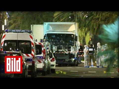 Terror in Nizza - LKW rast in Menschenmenge
