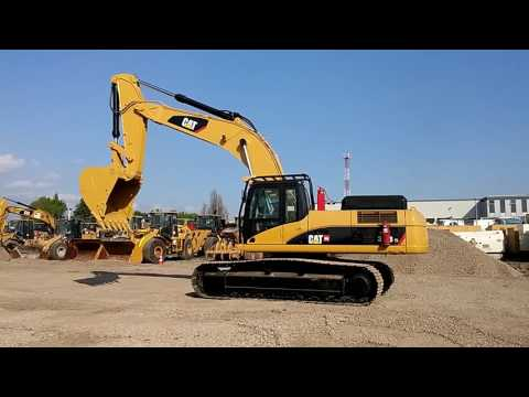 CATERPILLAR TRACK EXCAVATORS 336DL equipment video Ndd3G2UkbQI