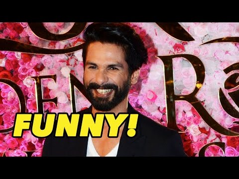 Shahid Kapoor's Funny Take On Wearing T-Shirt On R